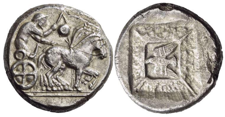 Les monnaies grecques de Brennos - Page 7 Olynth10