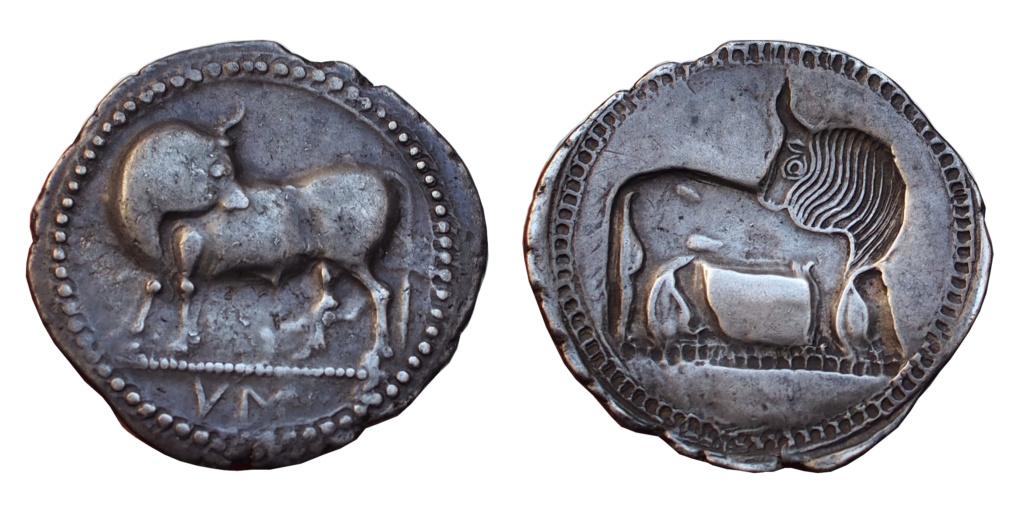 Les monnaies grecques de Brennos - Page 3 Sybari10