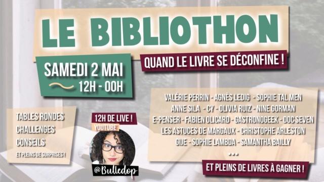 Live Bibliothon solidaire pour les métiers du livre 95199511