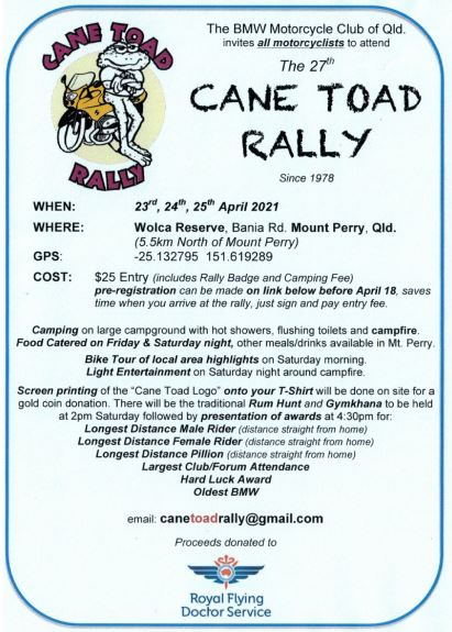 Cane Toad 2021 -23rd, 24th, 25th  April  Cane_t10