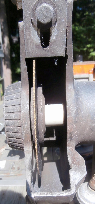 """Attach Cutting Disc to 6"""" Workbench Grinder P6170010"""