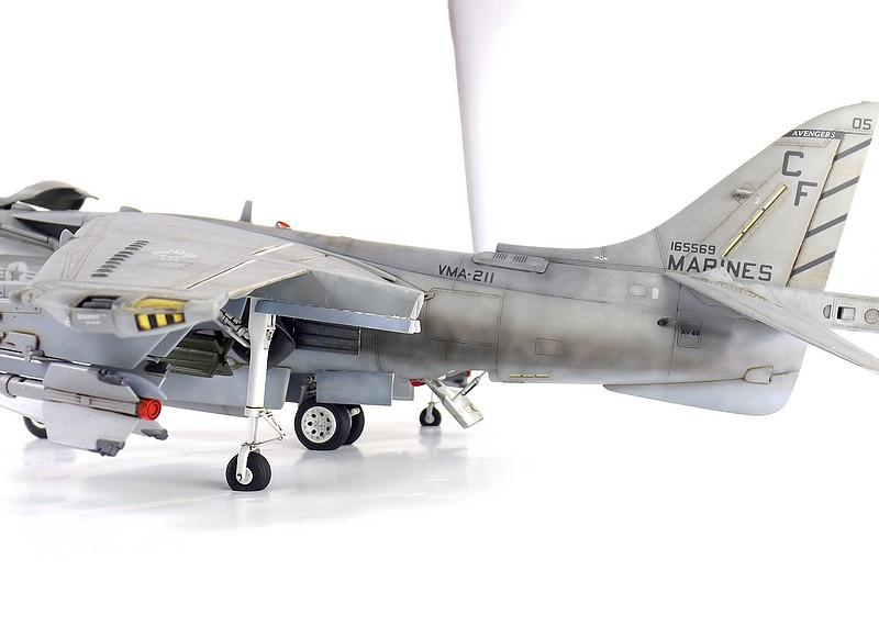 [Concours Aéronavale] AV-8B Harrier II plus - Trumpeter - 1/32 Av-8b615