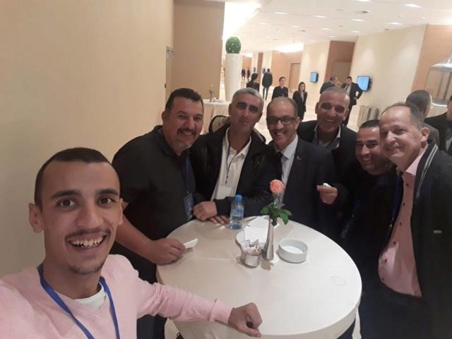photo avec le directeur general de la SNTF Monsieur Yacine Bendjaballah  45687910