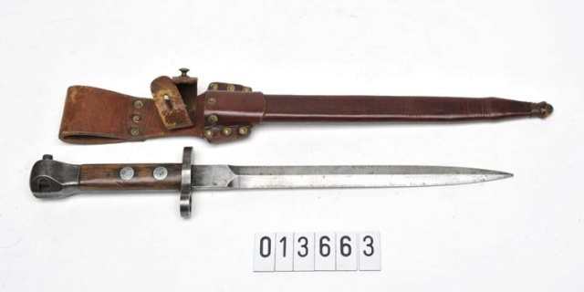 Baionnettes Manlicher Pays-Bas M.1895 de Cavalerie (1918 ) Karabi14