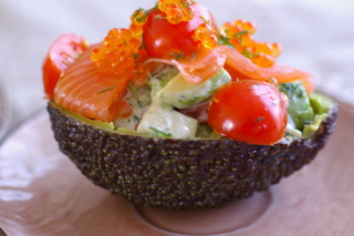 Mes recettes: Verrines et Entrées avec viandes, poissons ou oeufs - Page 2 Avocat10