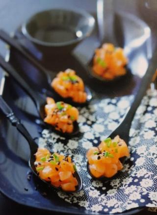 Mes recettes: Verrines et Entrées avec viandes, poissons ou oeufs - Page 2 Saumon10