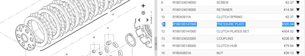 Embrayage anti-dribble R160 Captur16