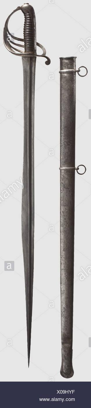 """Un sabre """"troupes d'Afrique"""" à lame de flyssa A-nort11"""