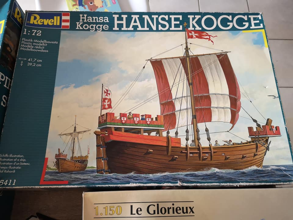 ventes divers voiliers revell 52999810