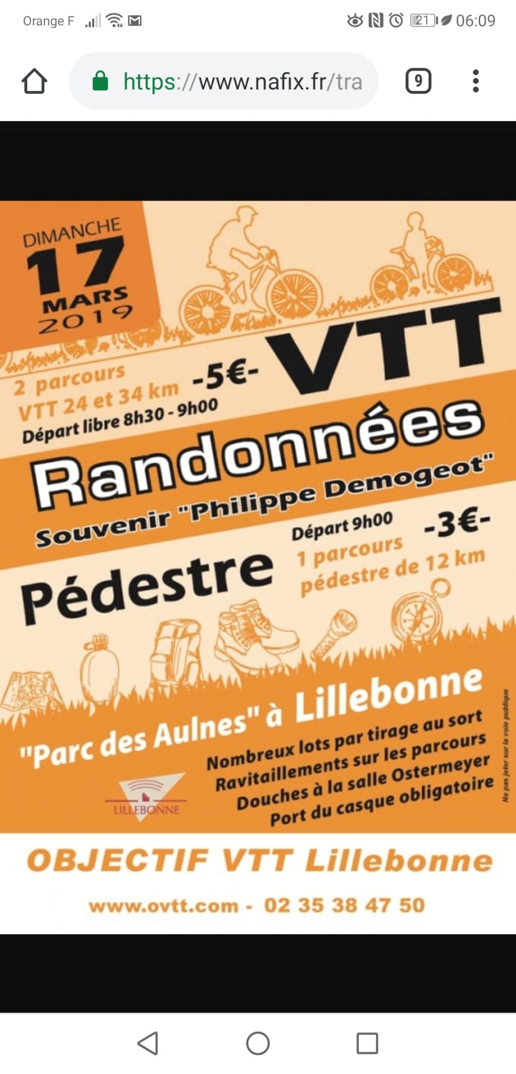 [Dimanche 17 Mars 2019] Randonnée Philippe Demogeot à Lillebonne (76) Screen10