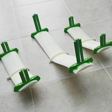 Projet de foil pour planche twin tip Hydrof11