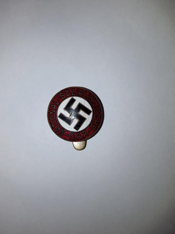 Badge parti et EK2 20180931