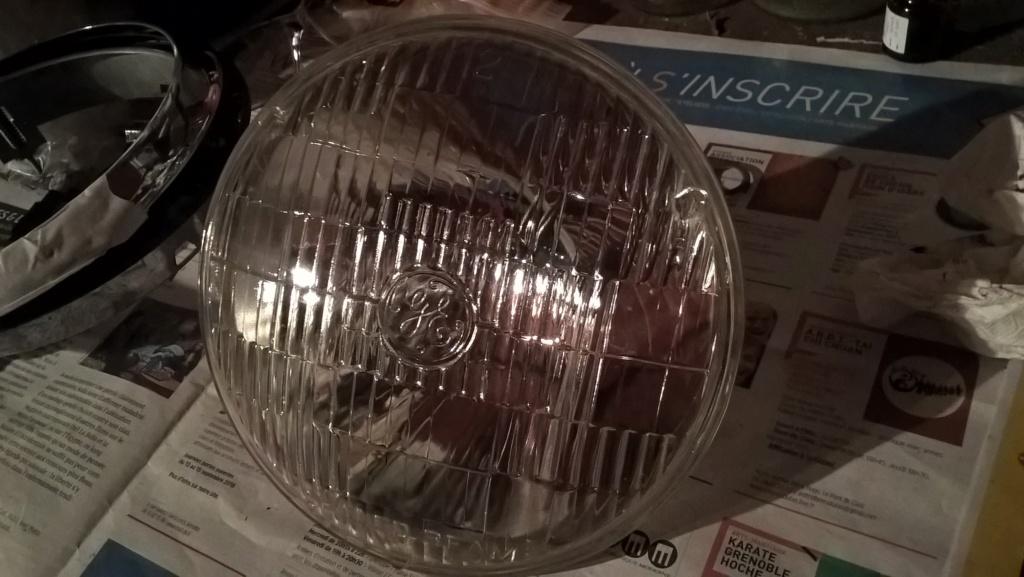 Cherce Paire de Globle Phare 12V US seal beam pour KG Wp_20110