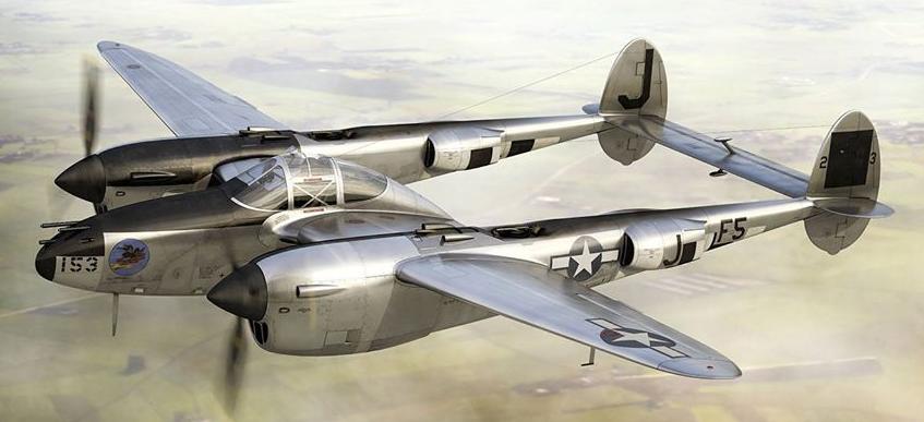 Un P-38 Lightning 12310