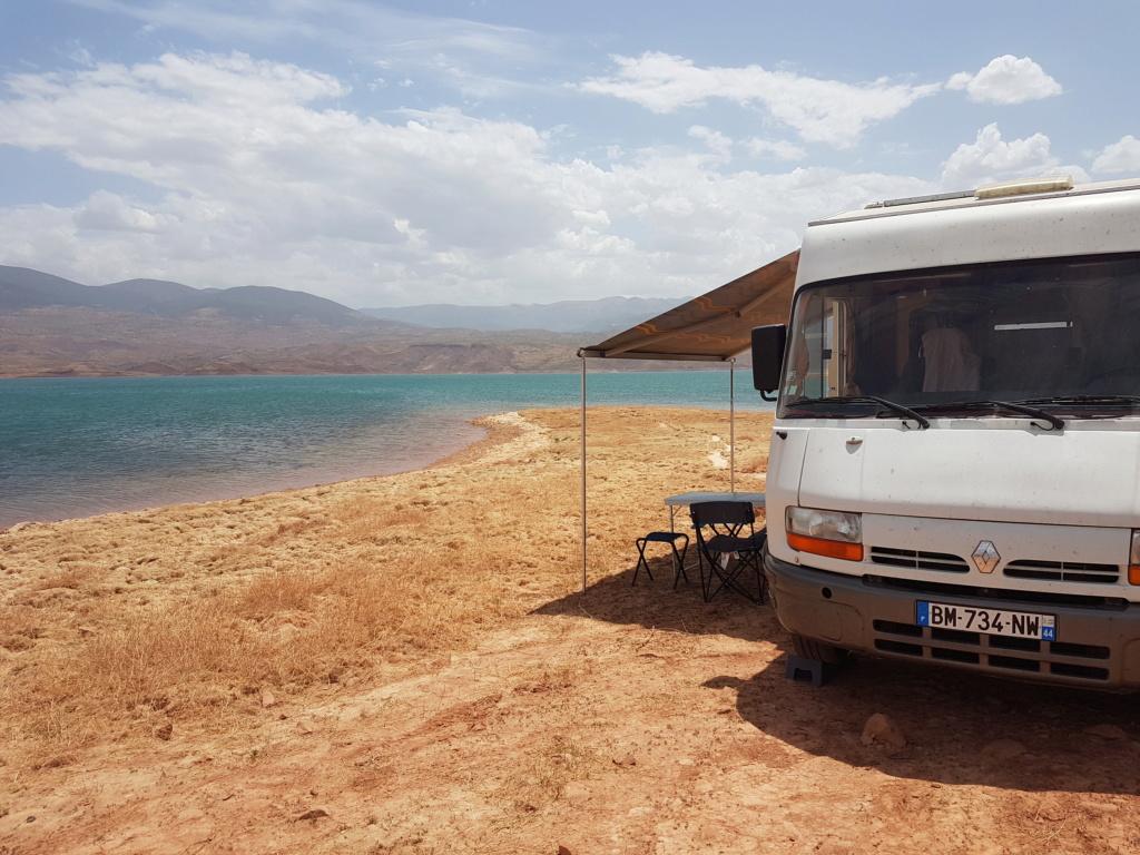 [Maroc Camp/Bivouacs] Lac Bin el ouifane 20180810