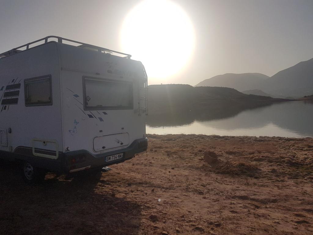 [Maroc Camp/Bivouacs] Lac Bin el ouifane 20180814