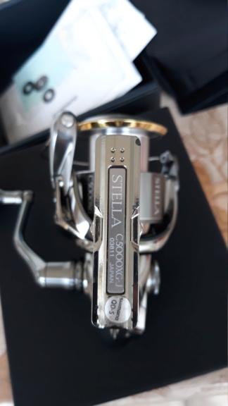 [Vendo][usato] Shimano Stella 5000 FJ  20200313