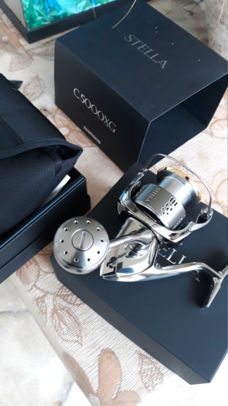 [Vendo][usato] Shimano Stella 5000 FJ  20200321