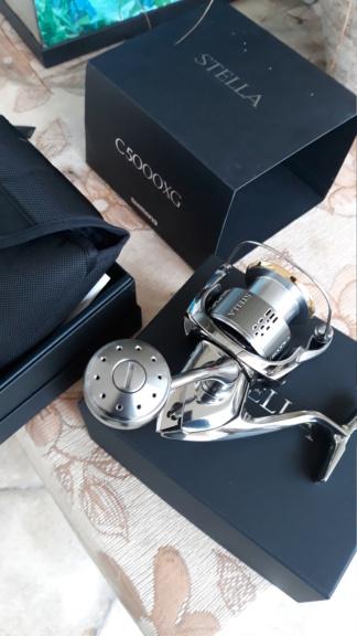 [Vendo][usato] Shimano Stella 5000 FJ  20200322