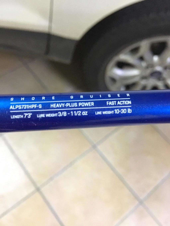 [vendo][usato] canna Airrus Alano Magma 7'3' 3/8-11/2 oz Img-2019