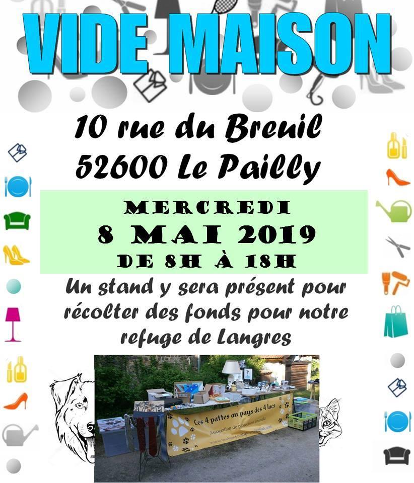 8 mai 2019 : vide maison 59177910