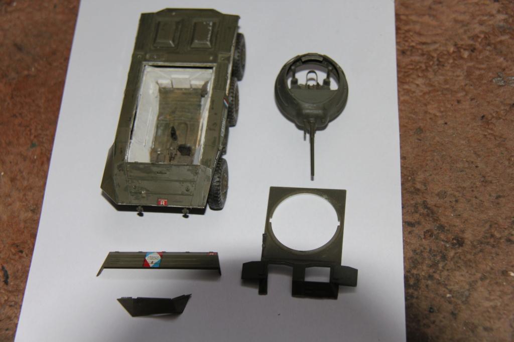 rénovation AM M8 2eme RSAR Tamiya 1/35 03610