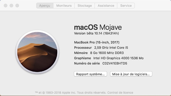 macOS Mojave 10.14 .Beta (Beta1, Beta2, Beta3, Beta4, Beta5, Beta6 . . .) - Page 3 125
