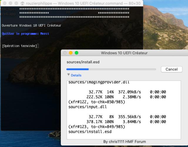 Windows 10 UEFI Créateur 326