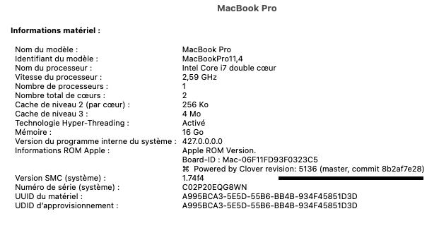 macOS Monterey 12.0 / 12.1 / 12.2 / 12.3 / 12.4 Beta Capt1006