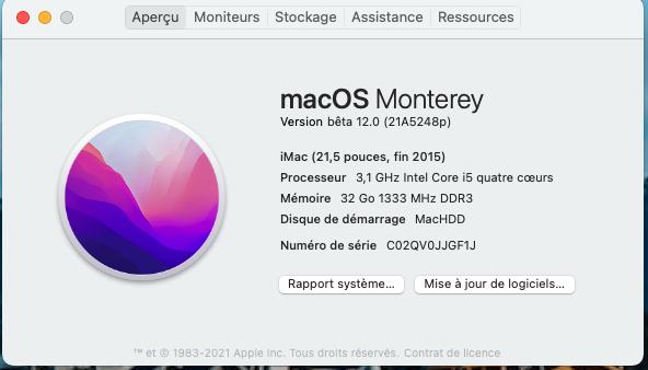 macOS Monterey 12.0 / 12.1 / 12.2 / 12.3 / 12.4 Beta - Page 2 Capt1013