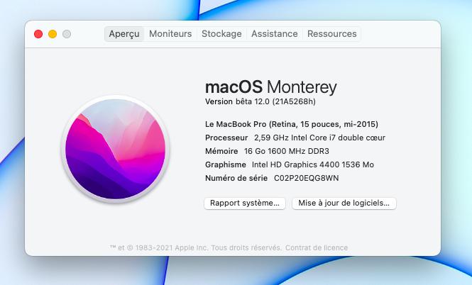 macOS Monterey 12.0 / 12.1 / 12.2 / 12.3 / 12.4 / 12.5 / 12.6 Beta - Page 6 Capt1022