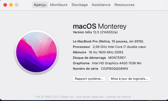 macOS Monterey 12.0 / 12.1 / 12.2 / 12.3 / 12.4 / 12.5 / 12.6 Beta - Page 9 Capt1116