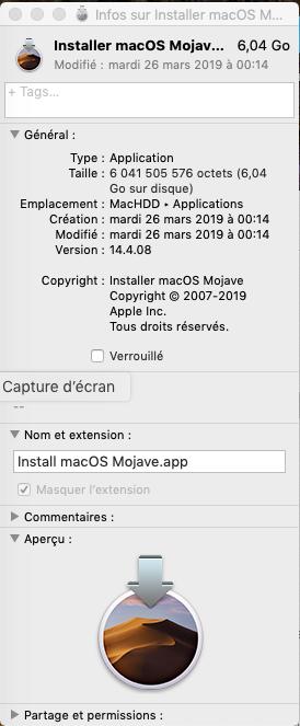 [résolu]Installation high sierra 10.13.1 et migration vers Mojave 10.14 sur Fujitsu AH532 - Page 3 Captu163
