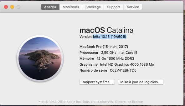 macOS Catalina 10.15 Developper Beta - Page 4 Captu231