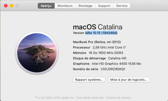 macOS Catalina 10.15 Developper Beta - Page 4 Captu296