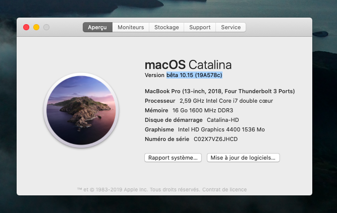 macOS Catalina 10.15 Developper Beta - Page 5 Captu354