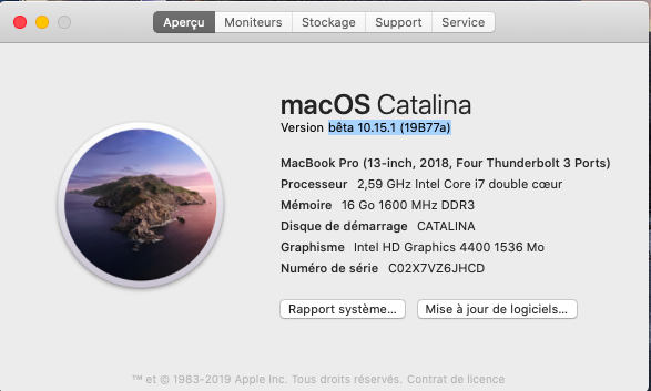 macOS Catalina 10.15 Developper Beta - Page 5 Captu381