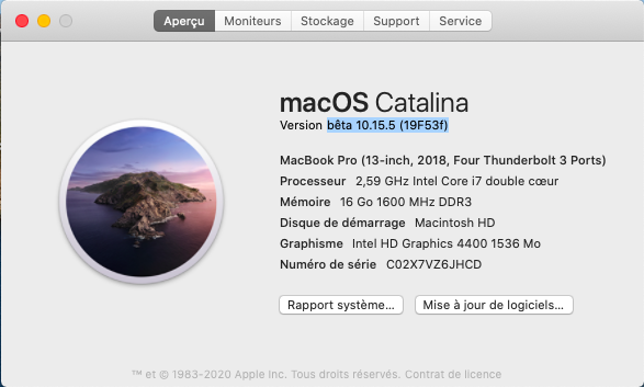 macOS Catalina 10.15 Developper Beta - Page 7 Captu524