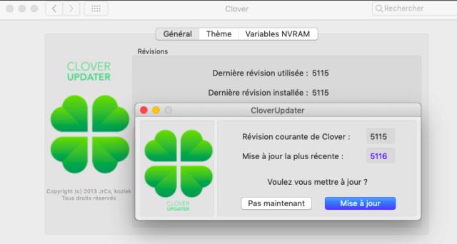 Cacher aprtitions windows dans le Clover boot menu Captu577