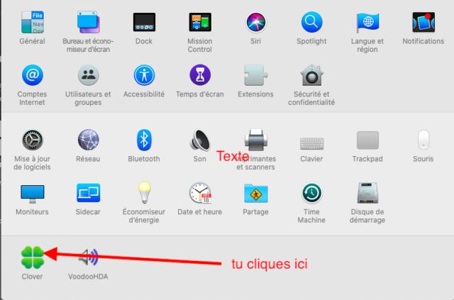 Cacher aprtitions windows dans le Clover boot menu Captu578