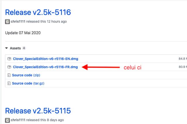 Cacher aprtitions windows dans le Clover boot menu Captu579