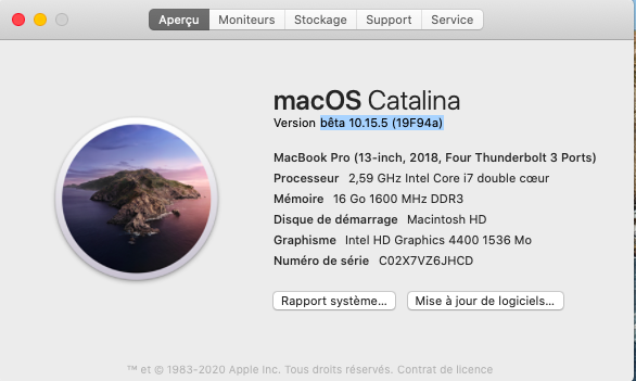 macOS Catalina 10.15 Developper Beta - Page 7 Captu593