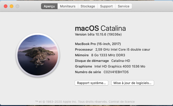 macOS Catalina 10.15 Developper Beta - Page 7 Captu629