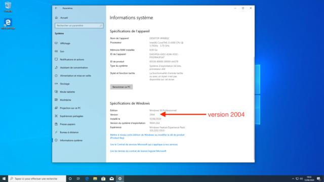 Windows 10 UEFI Créateur Captu644