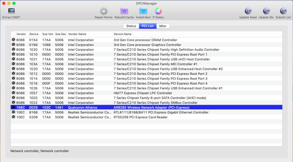 Problème création clé HP ProBook EliteBook macOS Captur35