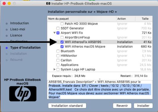 Problème création clé HP ProBook EliteBook macOS - Page 2 Captur39
