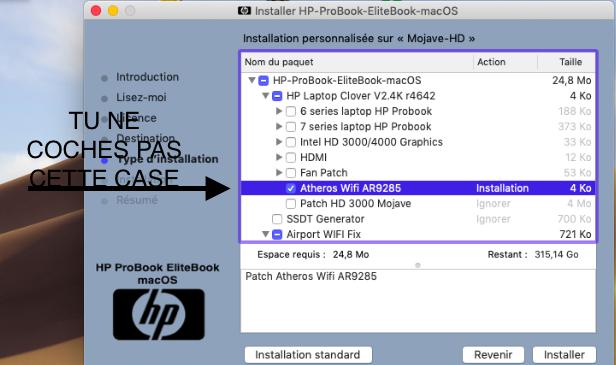 Problème création clé HP ProBook EliteBook macOS - Page 2 Captur40