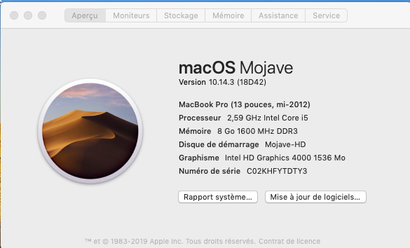 MacOS Mojave 10.14.3 final version (18D42) Captur91