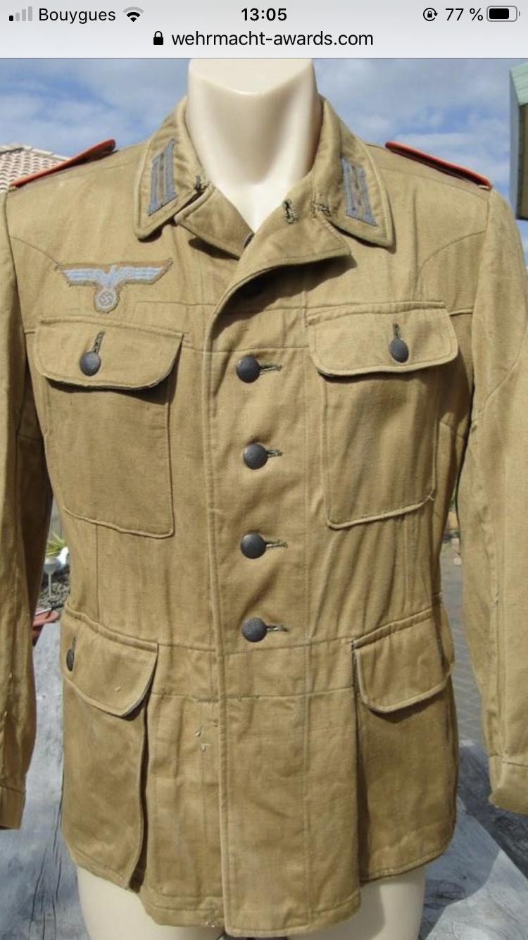 Pantalon droit AK troupe daté 1941 1caed710