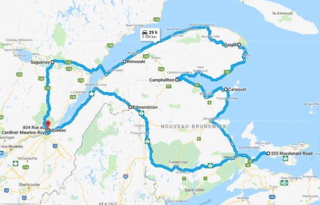 Road trip au Québec Quebec10